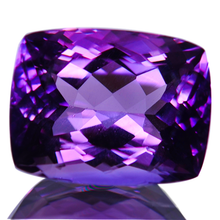 Load image into Gallery viewer, Purple Velvet Amethyst Gemstone Rectangular Cushion 20 Carats - Redstargems