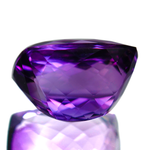 Purple Velvet Amethyst Gemstone Rectangular Cushion 20 Carats - Redstargems