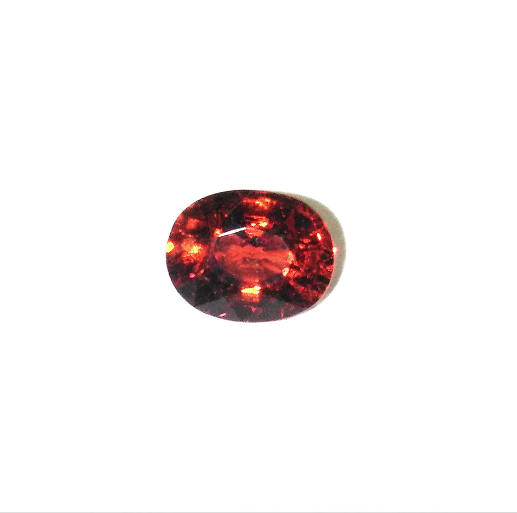 Spessarite Garnet Gemstone Oval Facetted Loose Gem - Redstargems