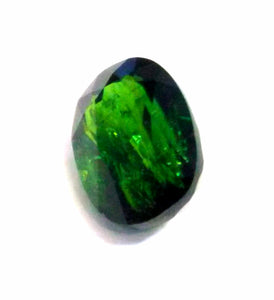 Chrome tourmaline gemstone loose oval facetted 2.05 cts - Redstargems