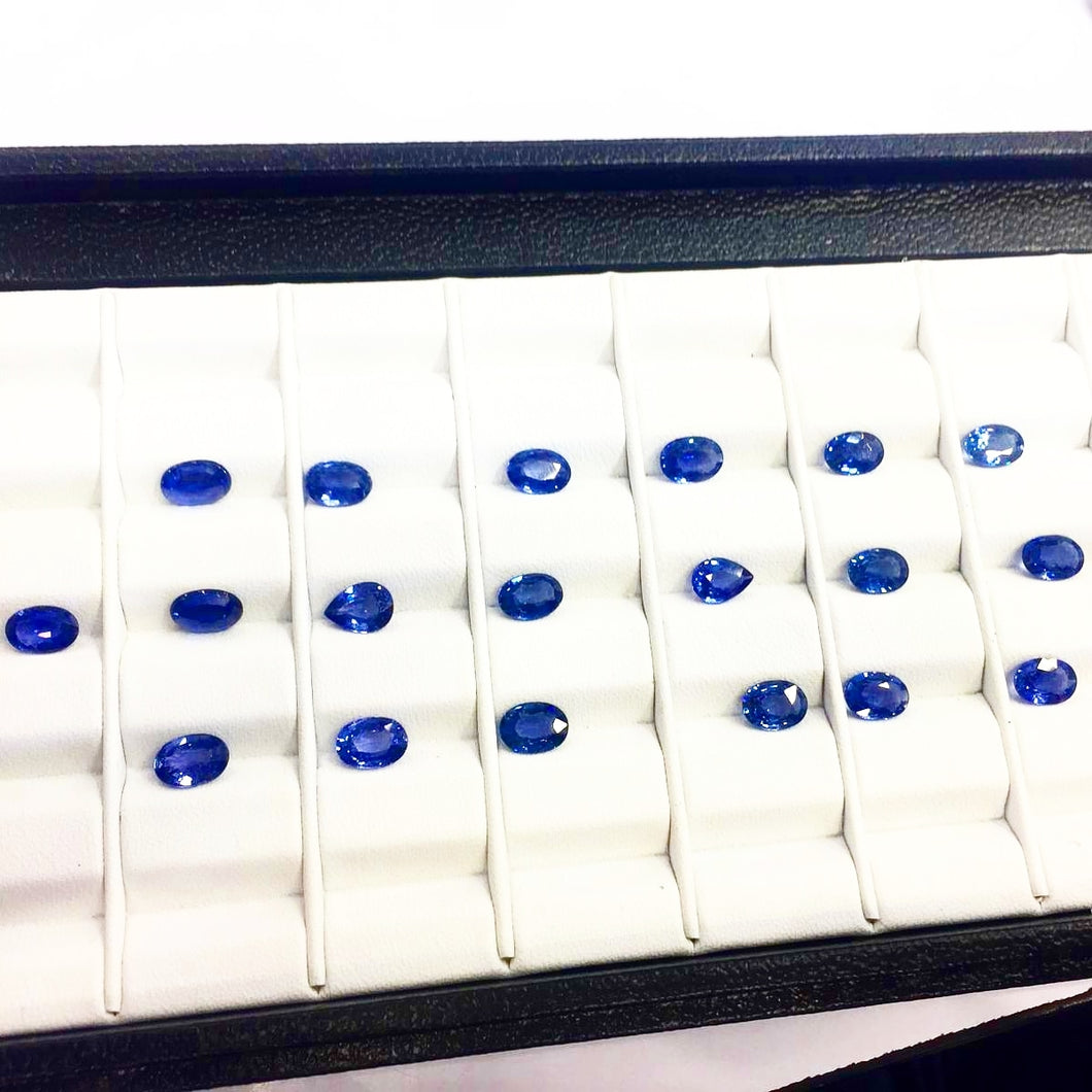 Natural Blue Sapphire Gemstone Lot 17.75 Carats Whole Sale - Redstargems