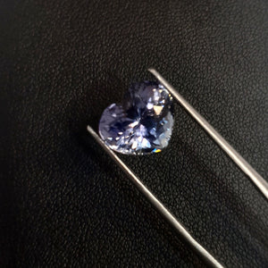 Natural Tanzanite Gemstone Heart Shape 4 Carats - Redstargems