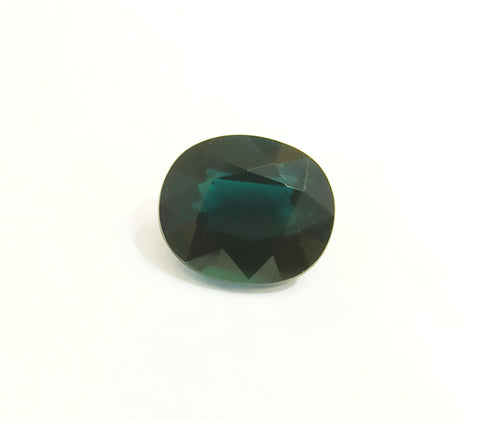 Unique Blue Tourmaline Loose Gemstone Indicolite 3.95 Carats - Redstargems