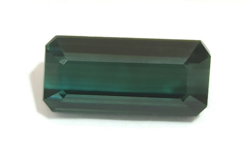 Octagon Cut Neat Blue Tourmaline Loose Gemstone - Redstargems