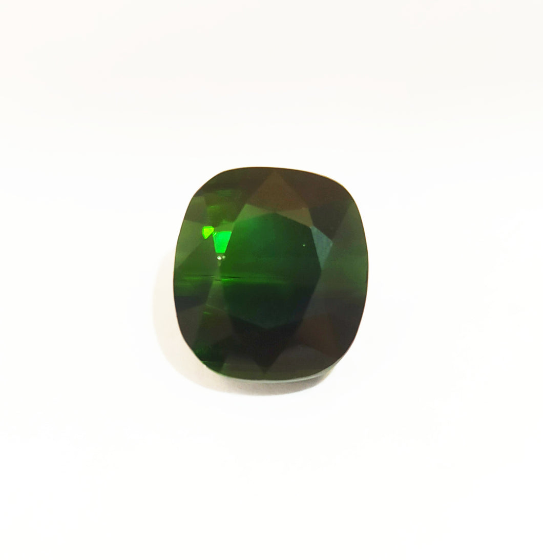 Cushion Shape Green Tourmaline Gemstone 6.90 Carats - Redstargems