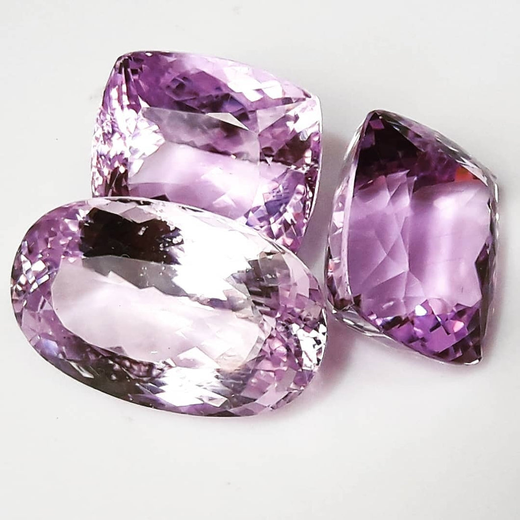 Incredible Pink Kunzite Gemstones - Redstargems