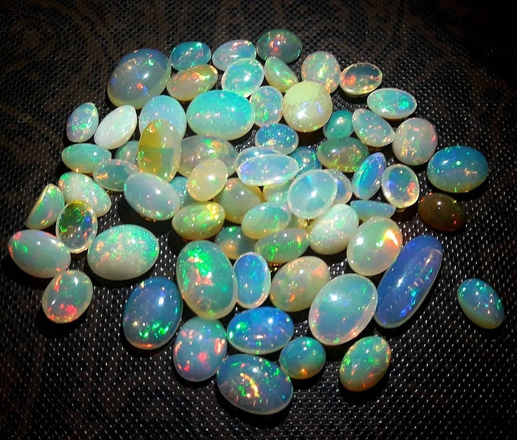 Dazzling Top Quality Natural Ethiopian Opals - Redstargems