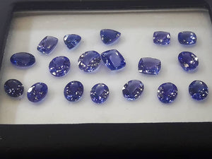 Natural Tanzanites AAA Color Top Quality Vvs Gemstones - Redstargems