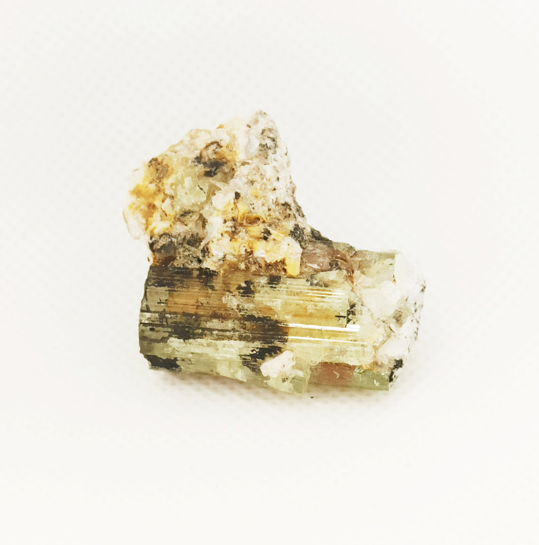 Crystal tourmaline 19 grams for collection pure natural and no treatment