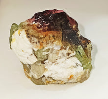 Load image into Gallery viewer, Natural bi colour tourmaline crystal collection 48.73 grams