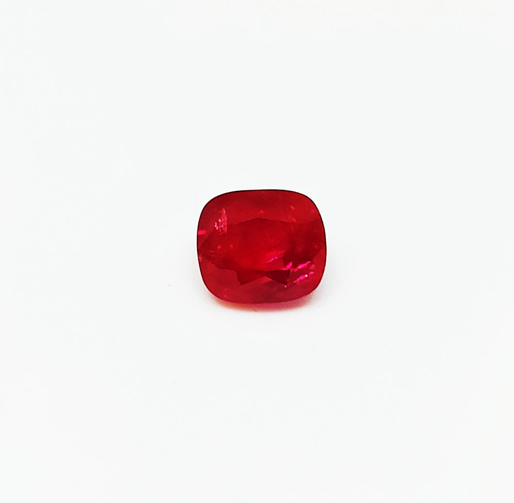 Natural burma ruby unheated and untreated 1.71 carats