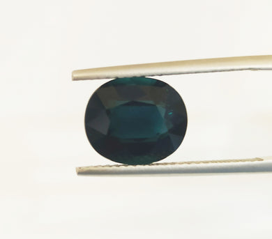 Natural blue tournmaline loose gemstone Indicolite colour 4.05 carats