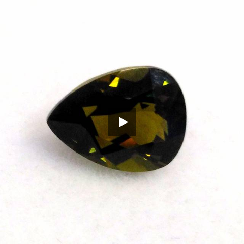 Amazing natural tourmaline gemstone pear shape 1.25 carats - Redstargems