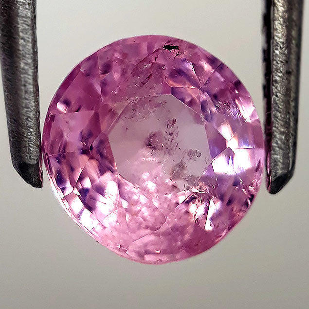 1.25 Carats Natural Pink Spinel Loose Gemstone 6 MM Size