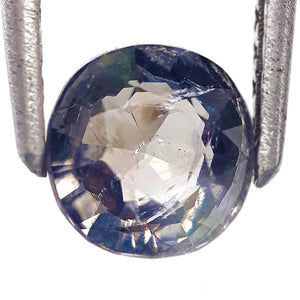1.15 Carats Natural Spinel Loose Gemstone 6 x 6 MM Grey Colour
