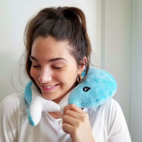 Dolphin Travel Pillow