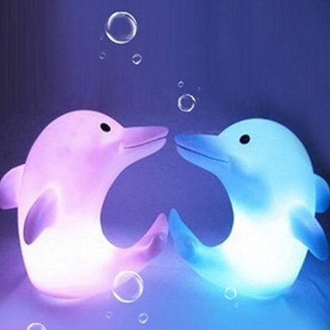 Dolphin Led Night Light Lamp