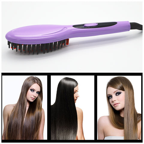 Hair Brush Fast Hair Straightener Comb hair