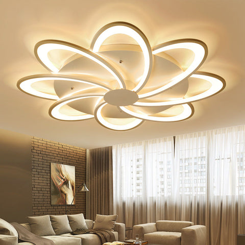Modern led ceiling chandelier lights for living room