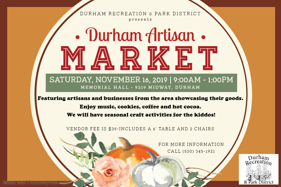 Durham Artisan Market-Vendor Registration