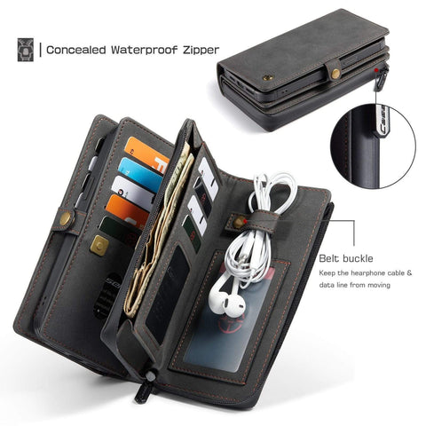 iPhone 12 leather wallet case styleeo
