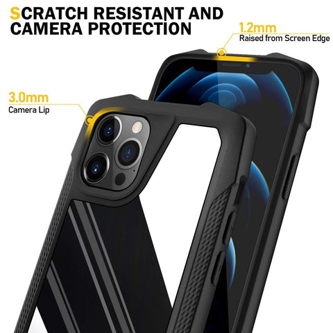 armor shockproof stainless steel case for iphone styleeo
