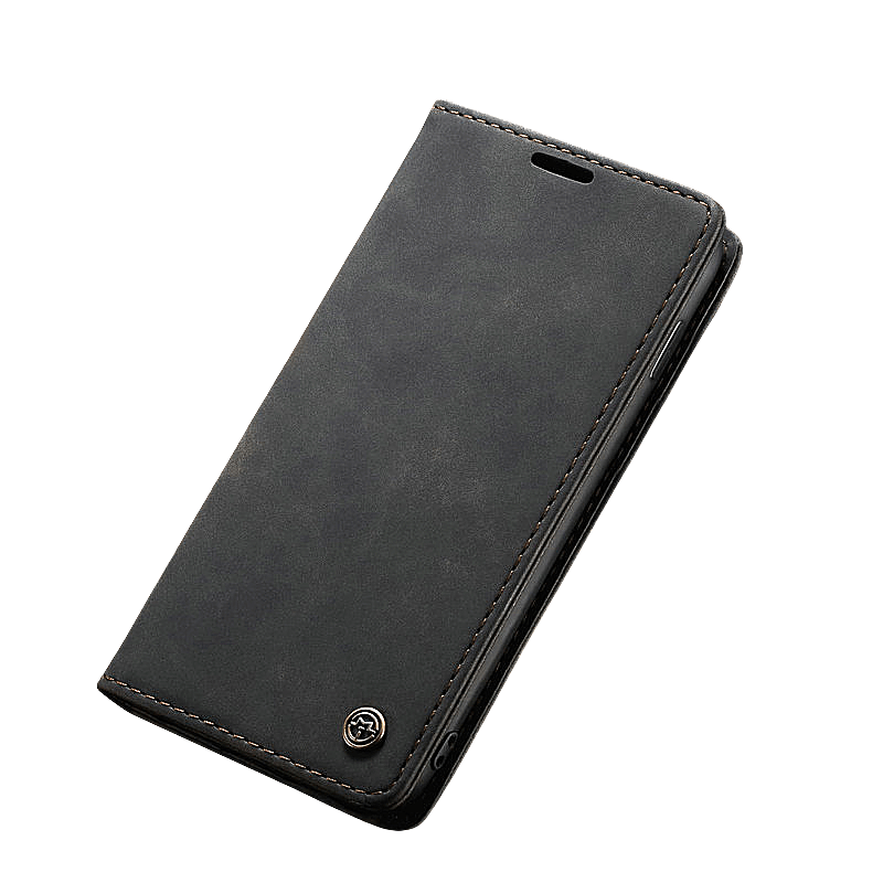 Luxury Magnetic Wallet Case For Samsung Galaxy