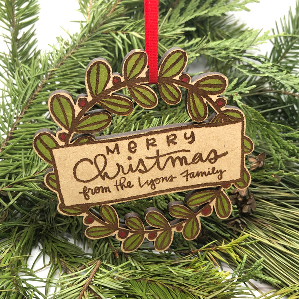 Cookie tag/ornament