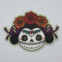 Calavera Girl Sticker