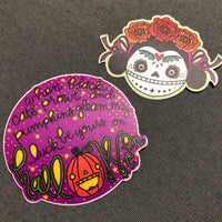 Halloween Luck Sticker