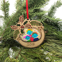 2019 Photo Frame Ornament