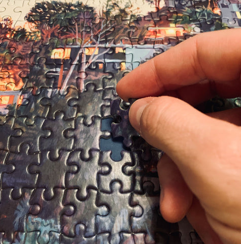 Finishing your puzzle