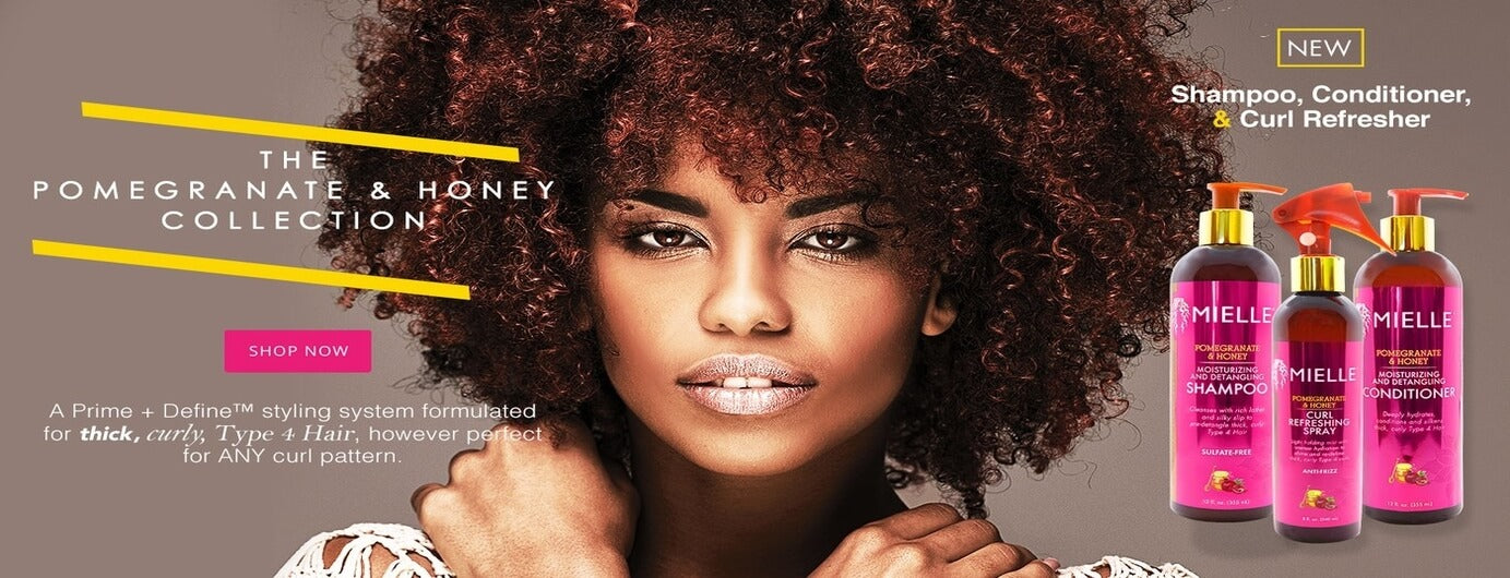 Mielle Organics Pomegaranate & Honey Collection - Black Beautique