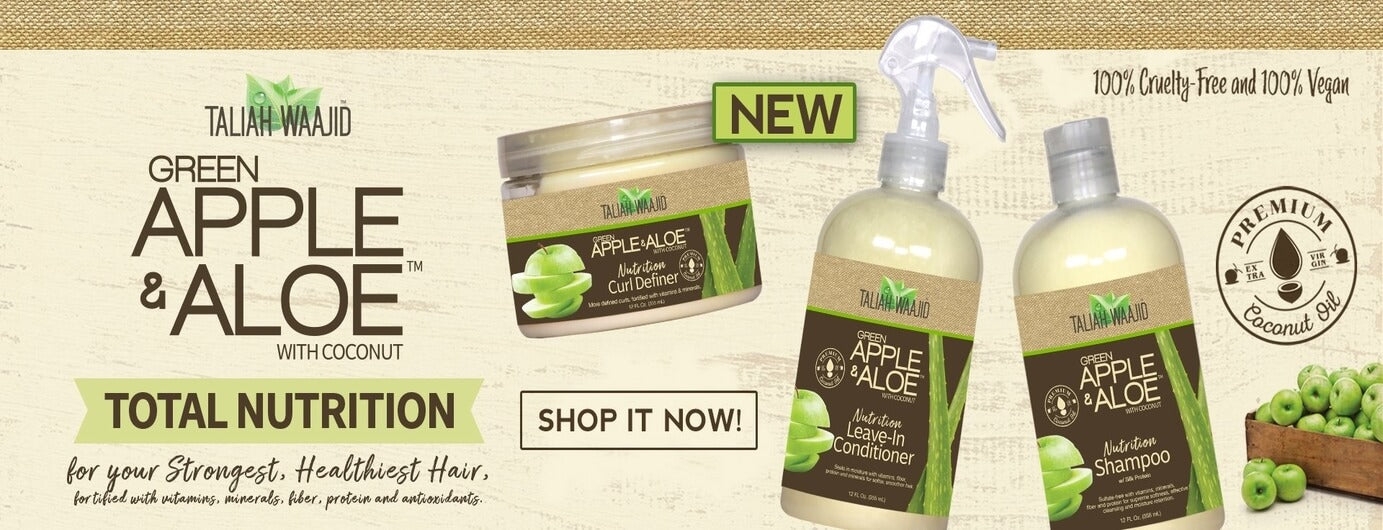 Taliah Waajid Green Apple & Aloe Collection - Black Beautique