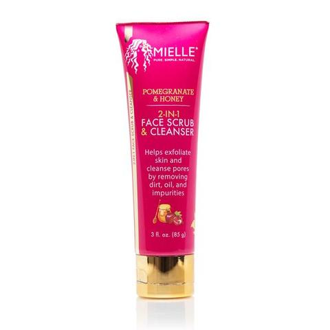 MIELLE - Pomegranate & Honey 2-in-1 Face Scrub & Cleanser 85g