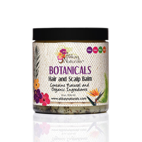 Alikay Naturals - Botanicals Hair and Scalp Balm 236ml - Black Beautique