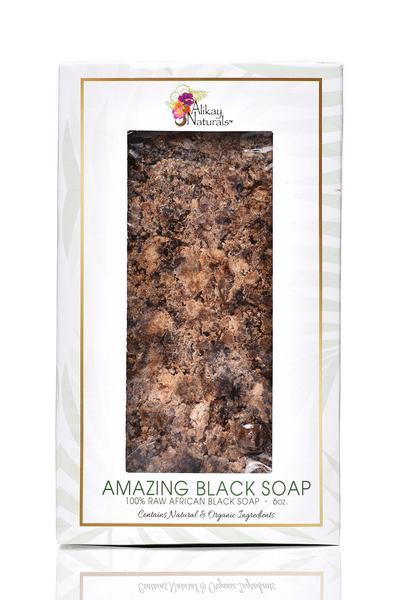 Alikay Naturals - Amazing Black Soap 170g - BlackBeautique