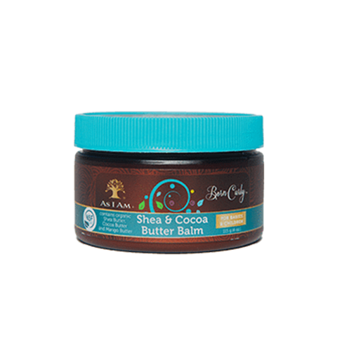 Born Curly Shea & Cocoa Butter Balm - BlackBeautique