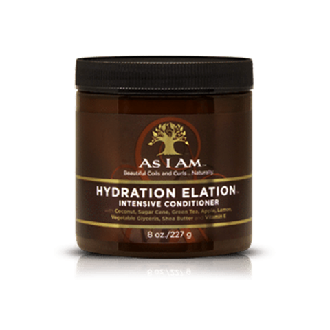 As I Am Hydration Elation Intensive Conditioner 227g - Black Beautique