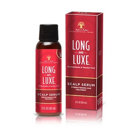 As I Am - Long and Luxe Scalp Serum 50ml | Black Beautique