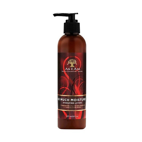 As I Am - So Much Moisture Hydrating Lotion 237ml - Black Beautique
