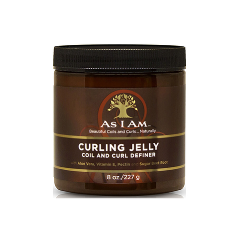 As I Am - Curling Jelly Curl and Coil Definer 227g - Black Beautique