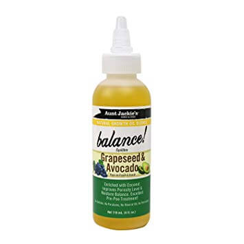 Aunt Jackie's - Balance! Grapeseed & Avocado 118ml - Black Beautique