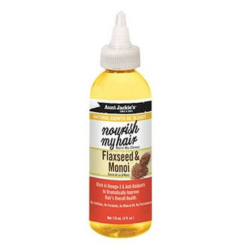 Aunt Jackie's - Natural Growth Oil Blend Nourish My Hair Flaxseed & Monoi 118ml - Black Beautique
