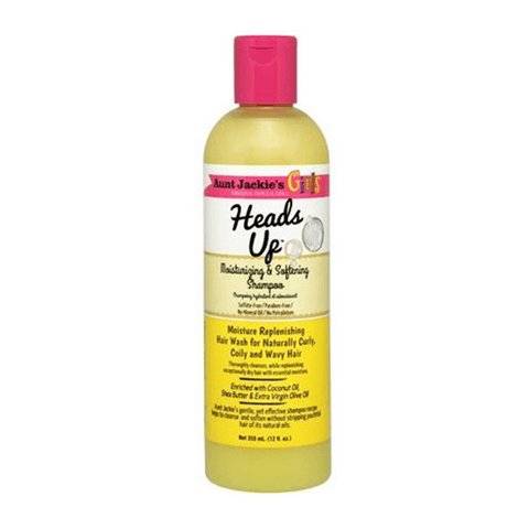 Aunt Jackie's Girls - Heads Up Moisturizing & Softening Shampoo 355ml | Black Beautique