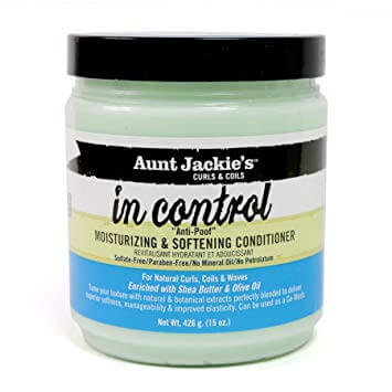 "Aunt Jackie's - In Control ""Anti-Poof"" Moisturizing & Softening Conditioner 426g"
