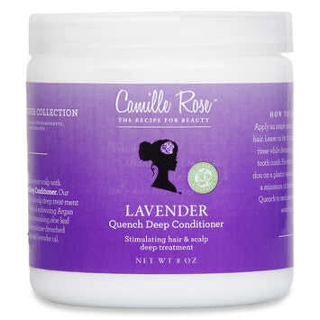 Camille Rose - Lavender Quench Deep Conditioner 227g - Black Beautique