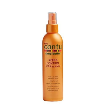 Cantu - Keep & Control Holding Spritz 237ml - Black Beautique