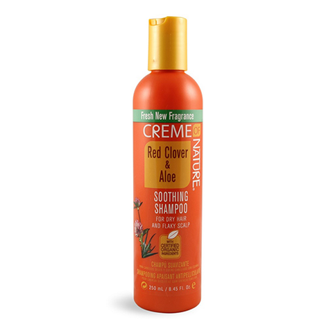 Creme of Nature - Red Clover & Aloe Soothing Shampoo - 8.45oz