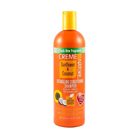 Creme of Nature - Sunflower & Coconut Detangling Conditioning Shampoo - 15.2oz